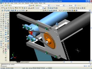 Продаем разный товар, например, AutoCAD - систему проектирования и черчения